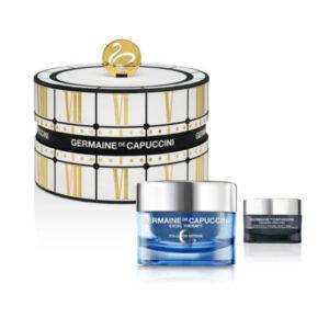 Golden Hours Excel O2 Pollution Defense Cream - Dry Skin with FREE Timexpert SRNS Detoxifying Eye Cream